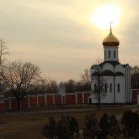 Вечерний монастырь :: Александра