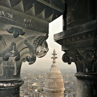 На куполе  Сакре-Кёра :: Galina Belugina