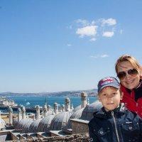 С сынулей в Стамбуле :: Светлана Королева