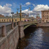 У Пантелеймоновского моста :: Владимир Колесников