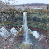 Водопад Devil Punchbowl Fall, Канада :: Юрий Поляков