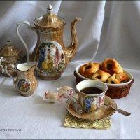 Чай душевно наливай, душу этим согревай! :: Anna Gornostayeva