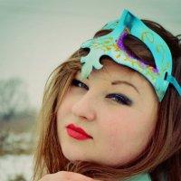 внутрішня краса під маскою :: Анна Поважук