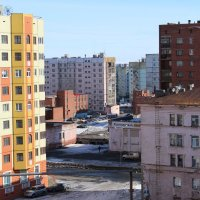 Норильск. Апрель 2015 года. :: victor maltsev
