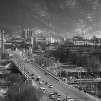 По проспекту :: Сергей Шруба