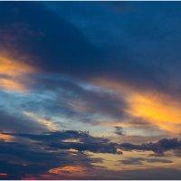 переход радуги за облака... :: Райская птица Бородина