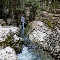 Агурские водопады :: Виолетта