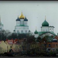 Троицкий собор и Богоявленская церковь. (вид от Гремячей башни) :: Fededuard Винтанюк