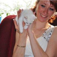 Девушка и котенок :: Алексей http://fotokto.ru/id148151Морозов