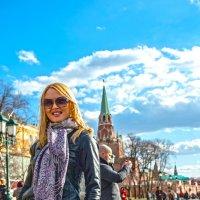 Анастасия Макарова на Красной площади :: Константин Молдыбаев