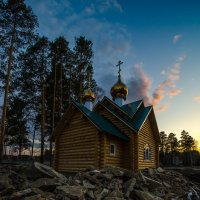 Трудная дорога к храму :: Вадим Кудинов