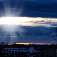 Сквозь тучи солнце продиралось.... :: Анатолий Клепешнёв