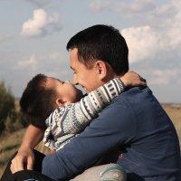 отец и сын :: Assel Baluanova