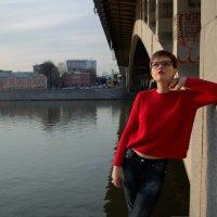 на мосту :: Светлана Анисимова