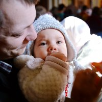 Монастырь. Повседневная жизнь. Дети в Храме. :: Геннадий Александрович