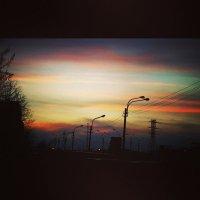 закат :: Виктория Жуланова