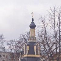 Часовня Михаила Архангела у верховья Раздерихинского оврага. :: Андрей Синицын