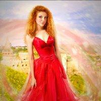 принцесса у замка :: Veronika G