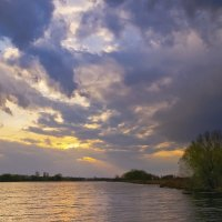 весенний закат :: юрий иванов