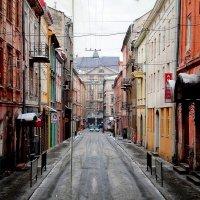 Нарисованная улица... Львов :: Александр Облещенко