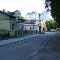Улица  Макаренко  в  Ивано - Франковске :: Андрей  Васильевич Коляскин