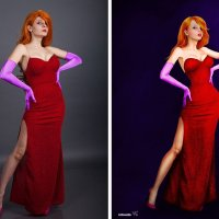 Джессика Рэббит (до и после) :: Veronika G