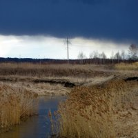 Может дождь хлынет... а может снег пойдёт... :: Михаил Попов