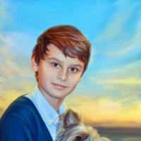 Мальчик и пес :: Ирина Kачевская
