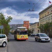 Мурманск. Самый северный в мире тролейбус. :: kolin marsh