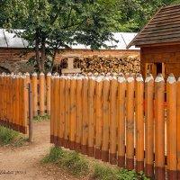 Карандашный забор :: Светлана Л.