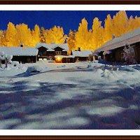 Вечерние зимние краски :: Лидия (naum.lidiya)