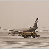 Шереметьево. Снег. Очень хочется взлететь... :: Кай-8 (Ярослав) Забелин
