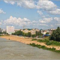 Город на реке :: Сергей Бережко