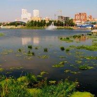Челябинск. Река Миасс. :: Лариса Мироненко