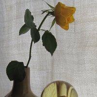 Натюрморт с желтой розой :: Маера Урусова