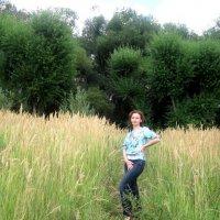 Ах, как хорошо летом на природе... :: Елена Семигина