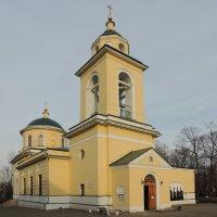 Церковь Сошествия Святого Духа на Даниловском кладбище. :: Александр Качалин