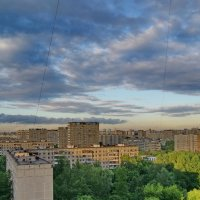 Небо большого города. :: kolin marsh