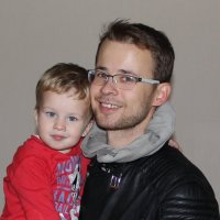 Отец и сын. :: Сергей Крюков