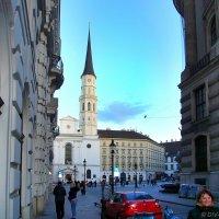Церковь и площадь Святого Михаила в Вене (Австрия) :: Денис Кораблёв