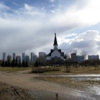 Храм Георгия Победоносца. :: Валентина Жукова