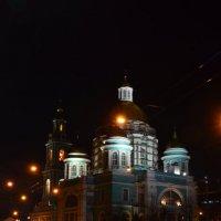Елоховский собор ночью :: Галина R...