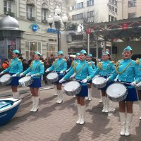 Очаровательные барабанщицы из Дальрыбвтуза :: Николай Дони
