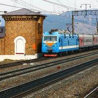 Россия из окна поезда :: Алексей Белик