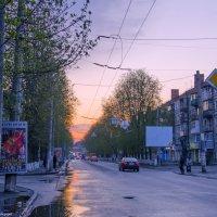 Пурпуром и золотом светит закат... :: Ксения Довгопол