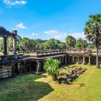 Камбоджа. В храме Ангкор Ват. XII век. :: Rafael