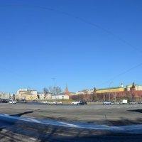 Панорама Боровицкой площади. :: Oleg4618 Шутченко