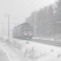 Сквозь снег и ветер :: Валерий Нечистяк