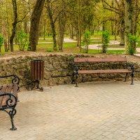 Уютное место а парке Jakobsruhe :: Игорь Вишняков