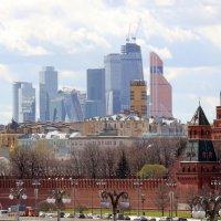 Сити, теперь и в Кремле) :: Михаил Бибичков